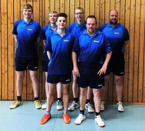 Tischtennis-1-Mannschaft
